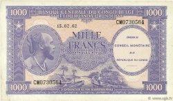 1000 Francs CONGO (RÉPUBLIQUE)  1962 P.02a TTB