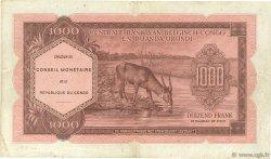 1000 Francs CONGO (RÉPUBLIQUE)  1962 P.002a TTB