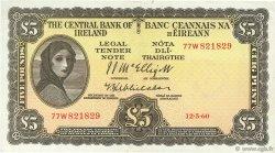 5 Pounds IRLANDE  1960 P.058d TTB+