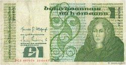 1 Pound IRLANDE  1987 P.070c TB