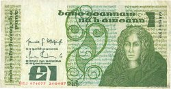 1 Pound IRLANDE  1987 P.070c pr.TB