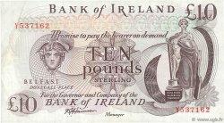 10 Pounds IRLANDE DU NORD  1984 P.067b TTB