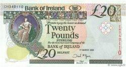 20 Pounds IRLANDE DU NORD  2005 P.080a var NEUF