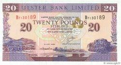 20 Pounds IRLANDE DU NORD  1999 P.337b NEUF