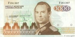 1000 Francs LUXEMBOURG  1985 P.59a TTB+