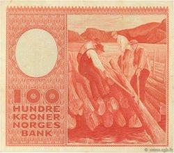 100 Kroner NORVÈGE  1950 P.33a1 TTB