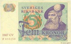 5 Kronor SUÈDE  1967 P.51a SPL