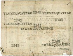34 Scudi VATICAN  1795 PS.332 TB