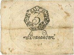3 Bajocchi VATICAN  1798 P.S531 TB+