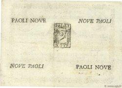 9 Paoli VATICAN  1798 PS.539 SUP+