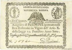 9 Paoli VATICAN  1798 P.S539 SPL