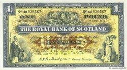 1 Pound ÉCOSSE  1958 P.324b SUP+