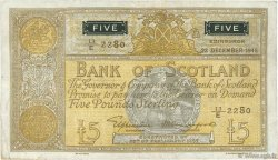 5 Pounds ÉCOSSE  1948 P.098a TTB