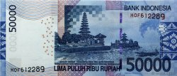 50000 Rupiah INDONÉSIE  2011 P.145e NEUF