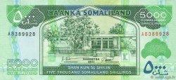 5000 Shillings SOMALILAND  2011 P.21 NEUF