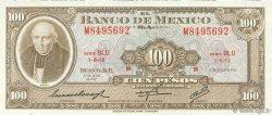 100 Pesos MEXIQUE  1972 P.061g NEUF