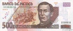 500 Pesos MEXIQUE  2000 P.120a pr.NEUF