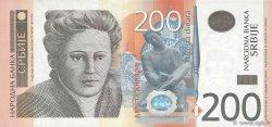 200 Dinara SERBIE  2011 P.57a NEUF