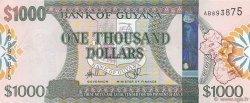 1000 Dollars GUYANA  2011 P.(39) NEUF