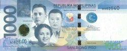 1000 Piso PHILIPPINES  2010 P.211a pr.NEUF