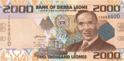 2000 Leones SIERRA LEONE  2010 P.31 NEUF
