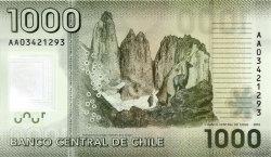 1000 Pesos CHILI  2010 P.161 NEUF
