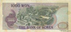 1000 Won CORÉE DU SUD  1975 P.44 TTB