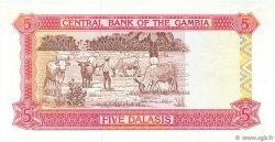 5 Dalasis GAMBIE  1991 P.12b NEUF