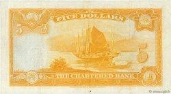 5 Dollars HONG KONG  1967 P.069 TTB