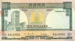 10 Dollars HONG KONG  1977 P.074c TTB