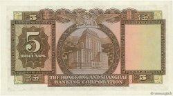 5 Dollars HONG KONG  1960 P.181a SUP
