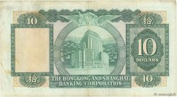 10 Dollars HONG KONG  1980 P.182i TTB