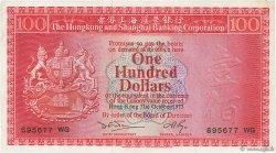 100 Dollars HONG KONG  1973 P.185c TTB