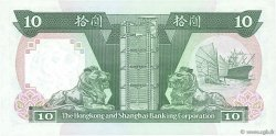 10 Dollars HONG KONG  1988 P.191b NEUF