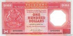 100 Dollars HONG KONG  1987 P.194a NEUF