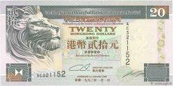 20 Dollars HONG KONG  1993 P.201a NEUF