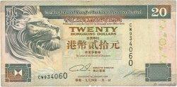 20 Dollars HONG KONG  1994 P.201a TB