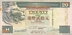 20 Dollars HONG KONG  1996 P.201b pr.TTB
