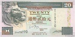 20 Dollars HONG KONG  1998 P.201d pr.NEUF