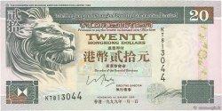20 Dollars HONG KONG  1999 P.201dvar SUP