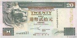 20 Dollars HONG KONG  2001 P.201d