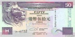 50 Dollars HONG KONG  1994 P.202a NEUF