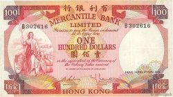 100 Dollars HONG KONG  1974 P.245