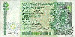 10 Dollars HONG KONG  1985 P.278a TTB