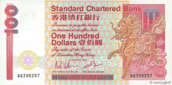 100 Dollars HONG KONG  1986 P.281b SUP