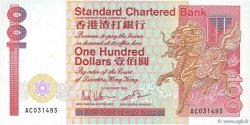 100 Dollars HONG KONG  1986 P.281b SPL