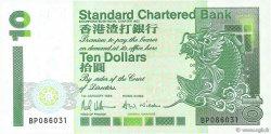 10 Dollars HONG KONG  1994 P.284b NEUF