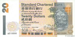 20 Dollars HONG KONG  1993 P.285a NEUF