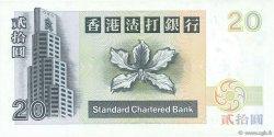 20 Dollars HONG KONG  1997 P.285b NEUF