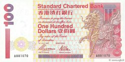 100 Dollars HONG KONG  1997 P.287b NEUF